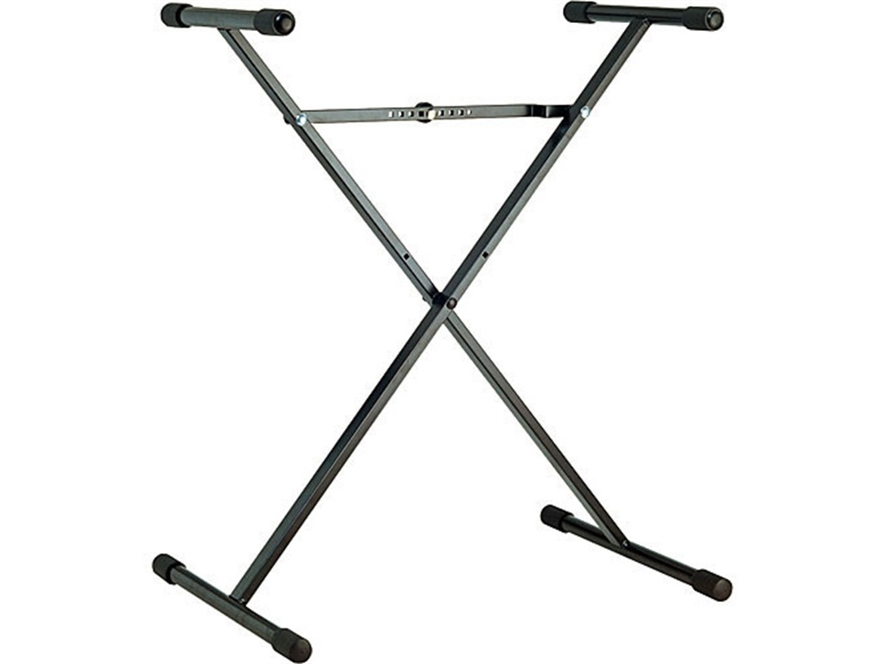 K&M 18962 Performer X-Stand Keyboard Stand (Black)