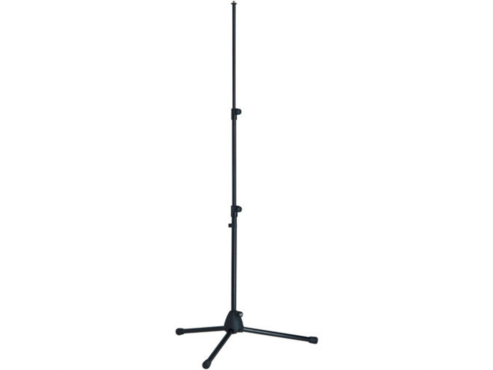 K&M 199B Telescoping Microphone Stand and Tripod Base (Black)