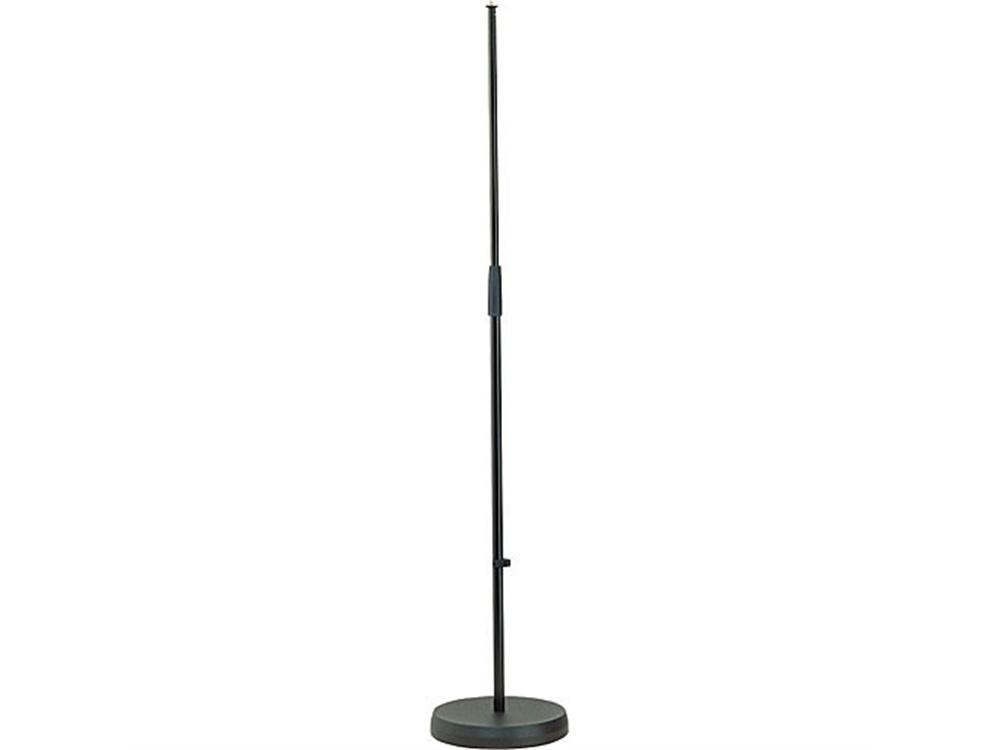 K&M 260/B Straight Microphone Stand (Black)