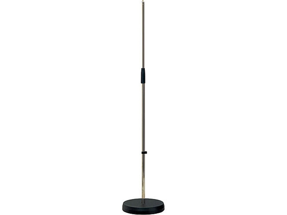 K&M 260 Straight Microphone Stand (Nickel)