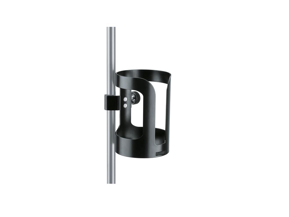 K&M 16022 Universal Drink Holder (Black)
