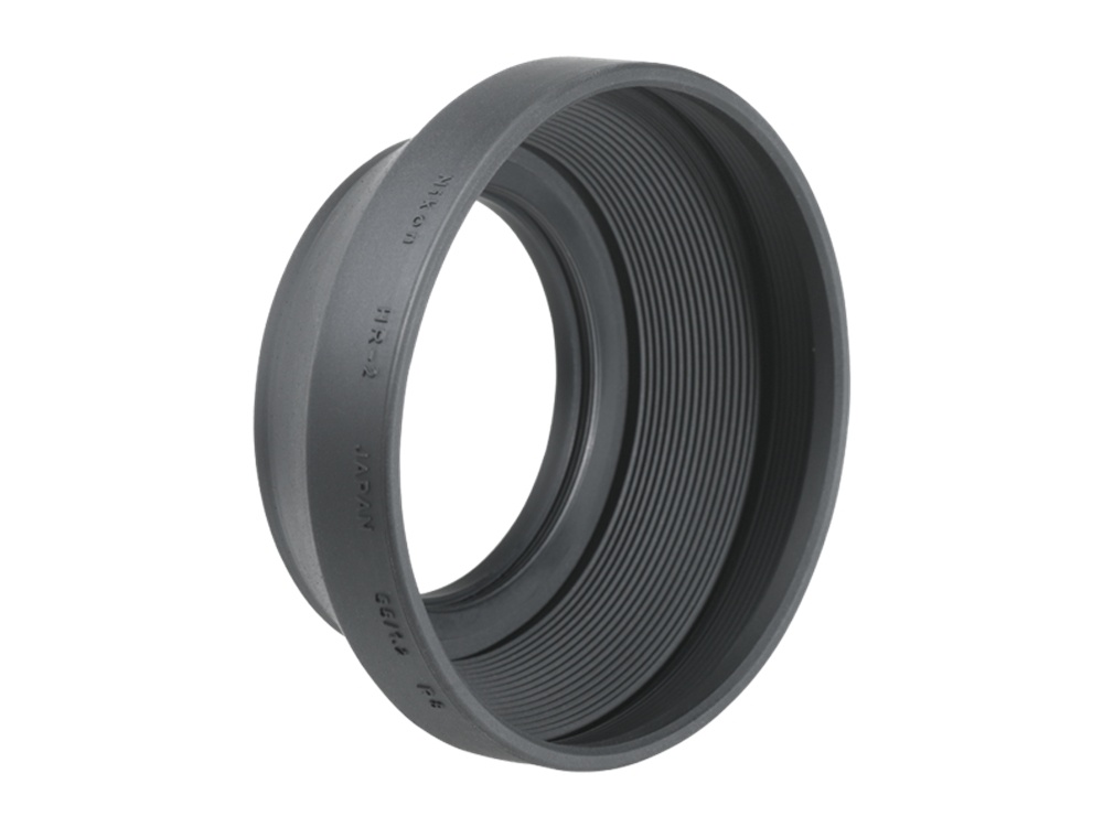 Nikon HR-2 52mm Screw-On Rubber Lens Hood