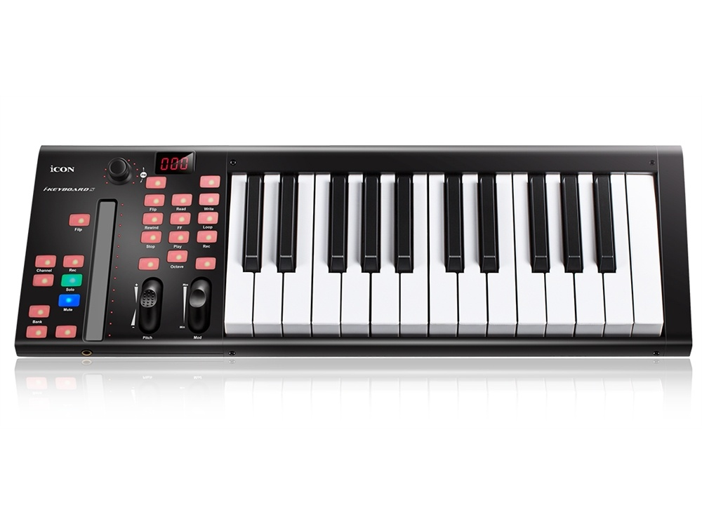Icon Pro Audio iKeyboard 3X Midi Controller