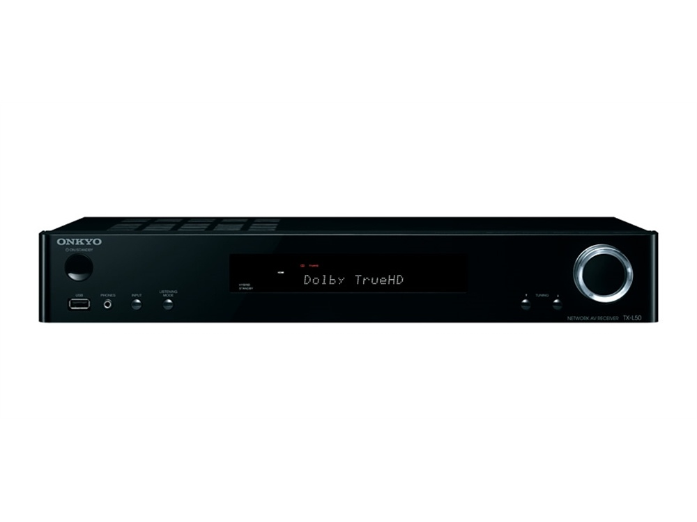 Onkyo TXL50 5.1 Channel Slim AV Receiver (Black)