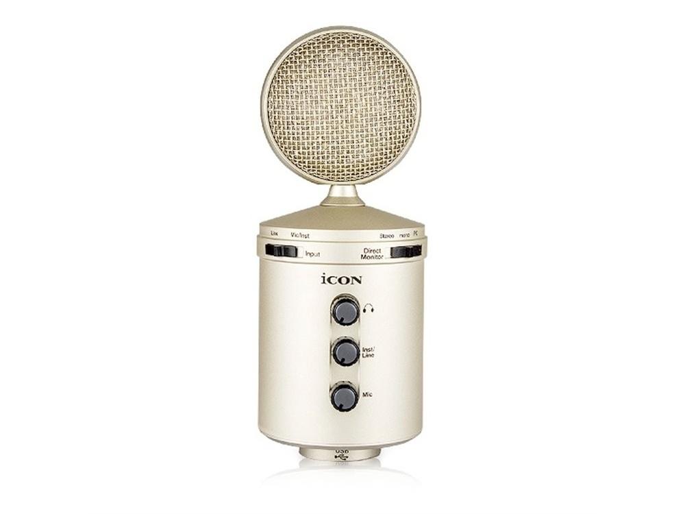 Icon Pro Audio U24 USB Recording Microphone