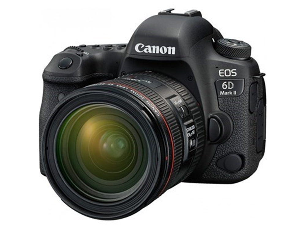 Canon EOS 6D Mark II DSLR Camera with 24-70mm f/4L IS USM Lens