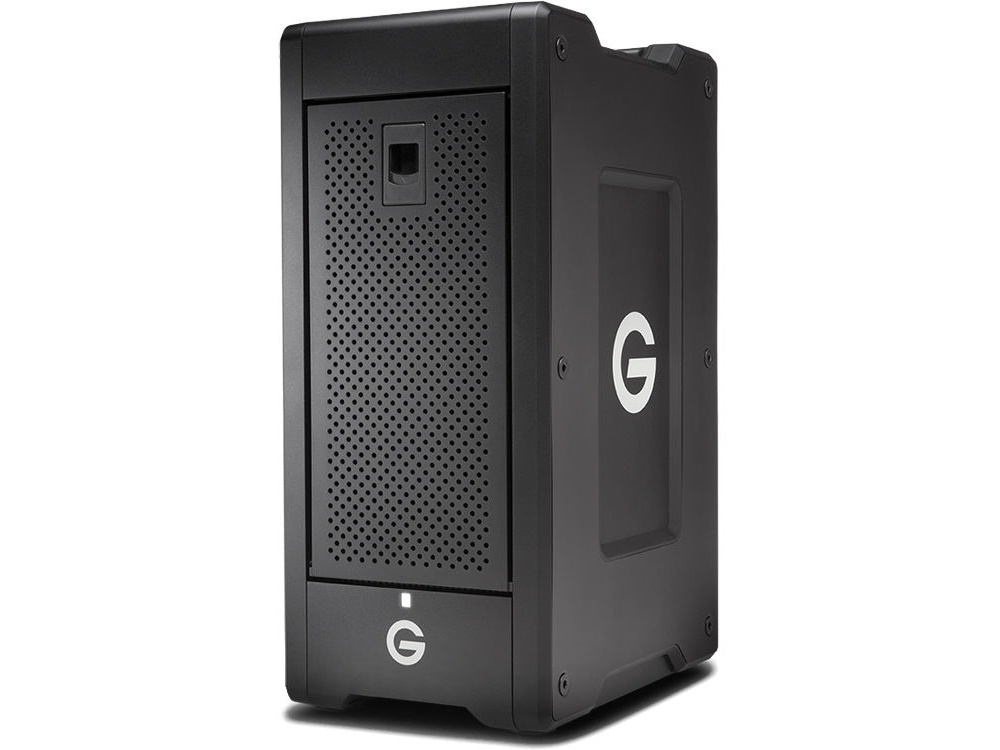 G-Technology G-SPEED Shuttle XL 48TB 8-Bay Thunderbolt 3 RAID Array with Two ev Bay Adapters