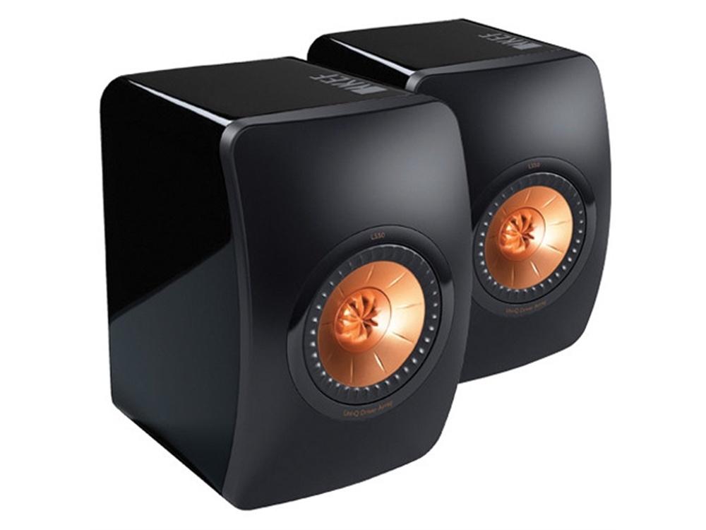 KEF LS50 Passive Mini Monitor Speaker -Pair (Black)