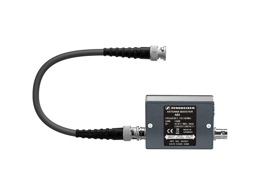 Sennheiser AB 3 Antenna Booster (A: 516 to 558 MHz)