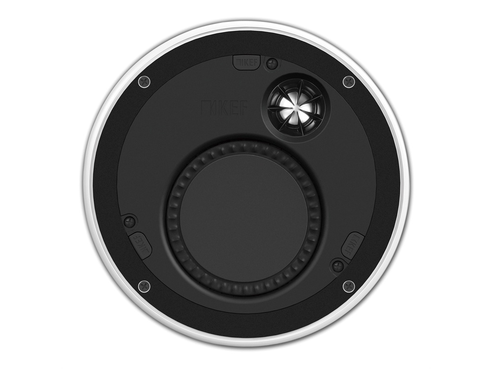 "KEF Ci160TR 36mm Bezel 4.5"" In Ceiling Speaker"