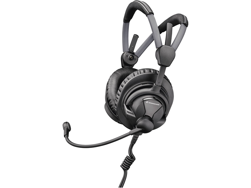 Sennheiser HME27 Broadcast Headset with Pre-Polarized Condenser Microphone