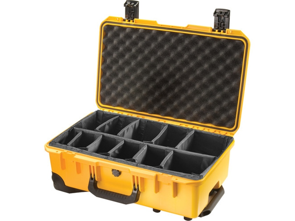 Pelican iM2500 Storm Case with Padded Dividers (Yellow)