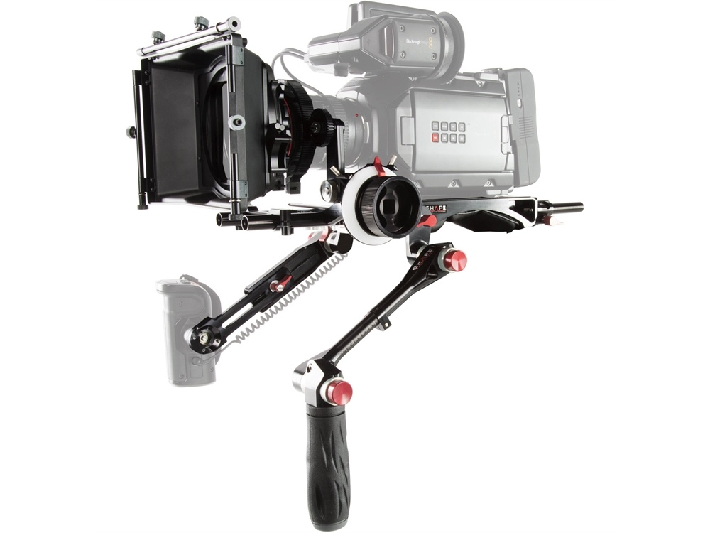 SHAPE Blackmagic URSA Mini Kit with Matte Box & Follow Focus Pro