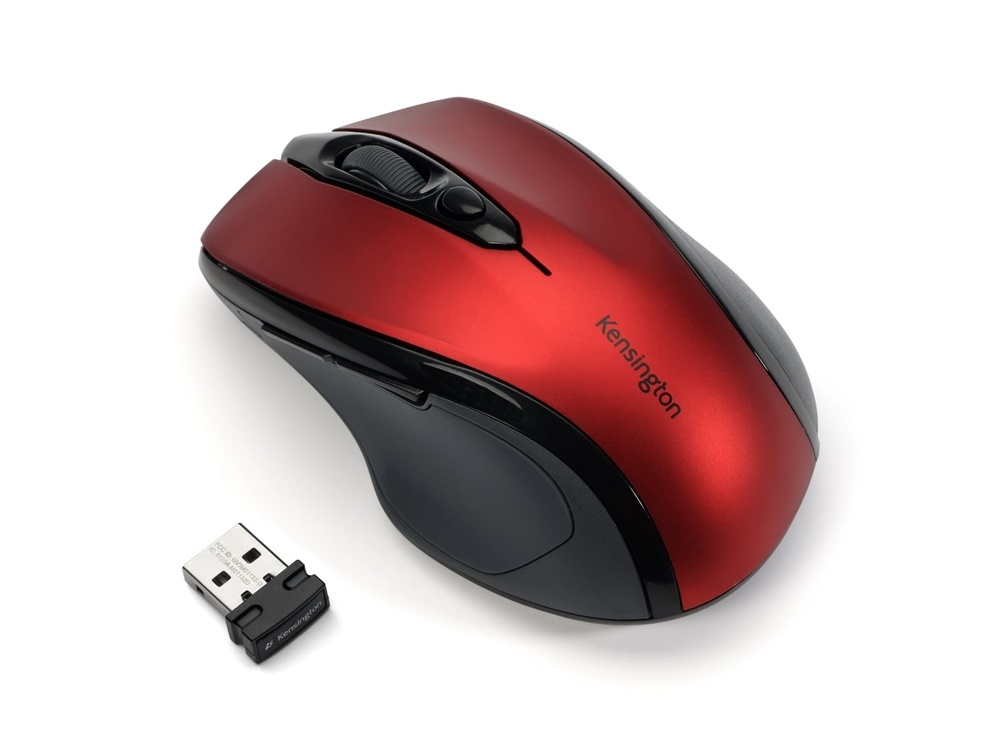 Kensington Pro Fit Wireless Mid-Size Mouse (Red)
