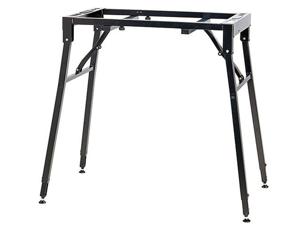 K&M 18950 Adjustable Table-Style Keyboard Stand (Black)