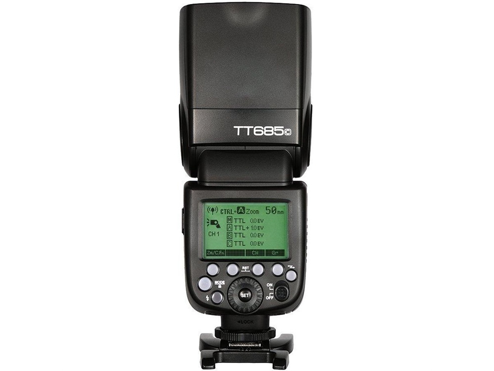 Godox TT685C Thinklite TTL Flash with XProC Trigger Kit for Canon Cameras
