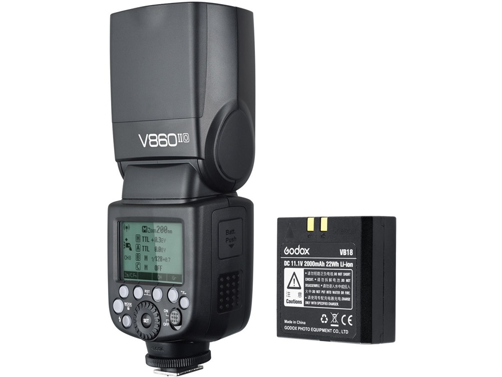 Godox VING V860IIF TTL Li-Ion Flash with X1T-F TTL Trigger Kit for Fujifilm Cameras