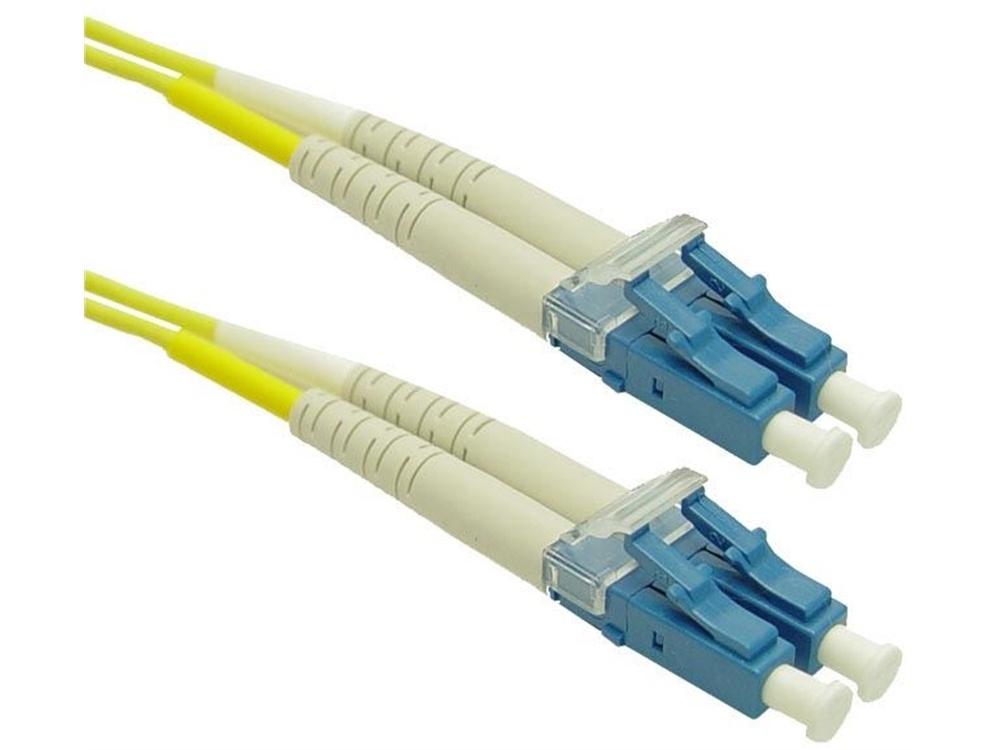 DYNAMIX 9u LC/LC Fibre Lead (Duplex, Single Mode, 5m)