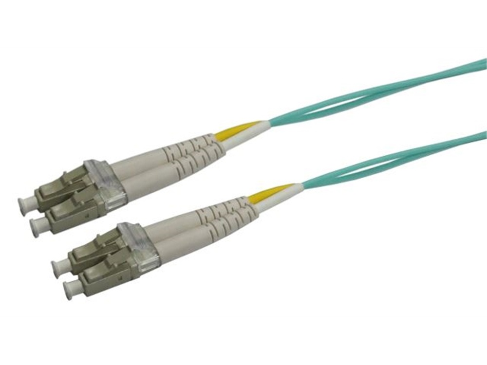 DYNAMIX 50u LC/LC OM3 Fibre Lead (Duplex, Multi-Mode, 7.5m)