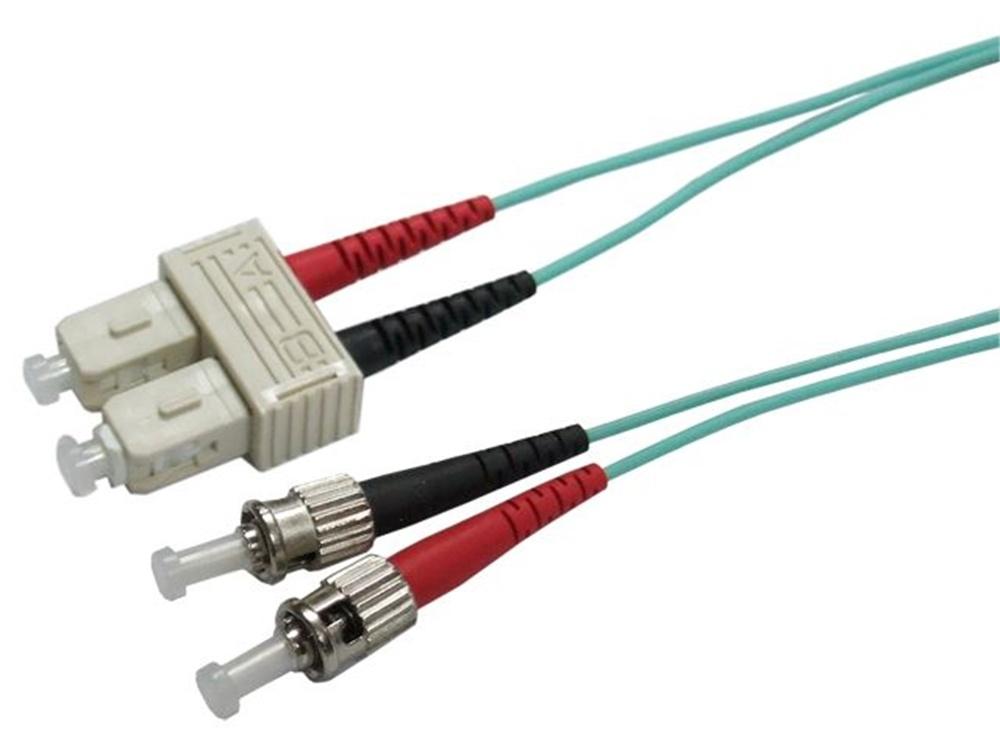 DYNAMIX 50u SC/ST OM3 Fibre Lead (Duplex, Multi-mode, 5m)
