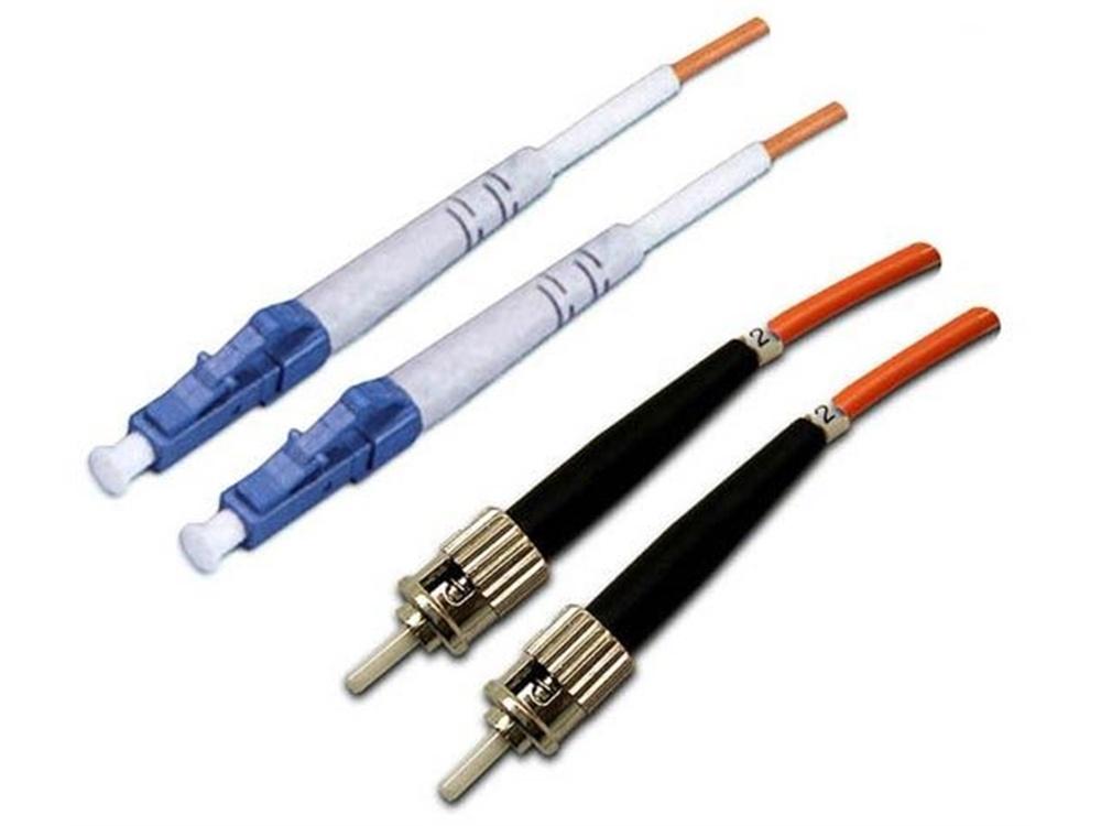 DYNAMIX 62.5u LC/ST OM1 Fibre Lead (Duplex, Multi-Mode, 15m)