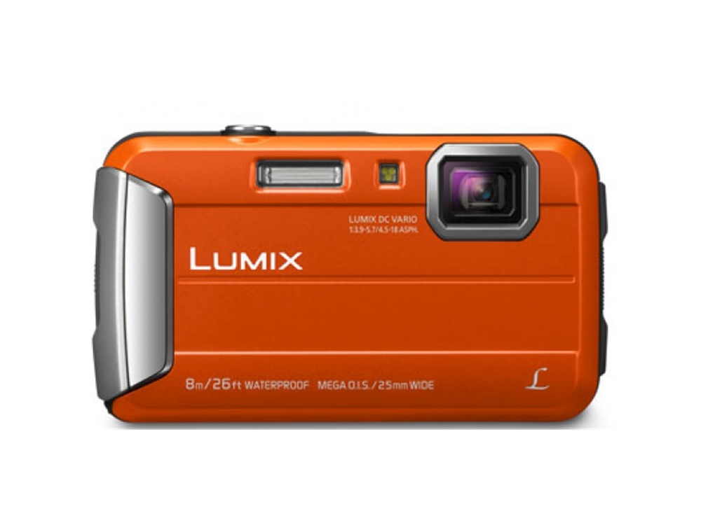 Panasonic Lumix DMC-FT30GN-D Digital Camera (Orange)