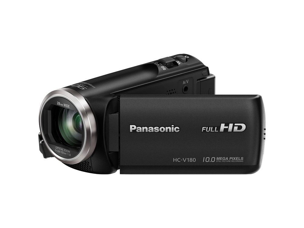 Panasonic HC-V180 Full HD Camcorder (Black)