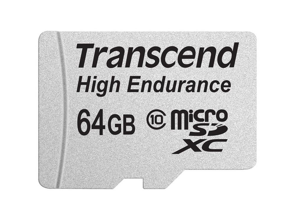 Transcend 64GB High Endurance microSDXC Memory Card