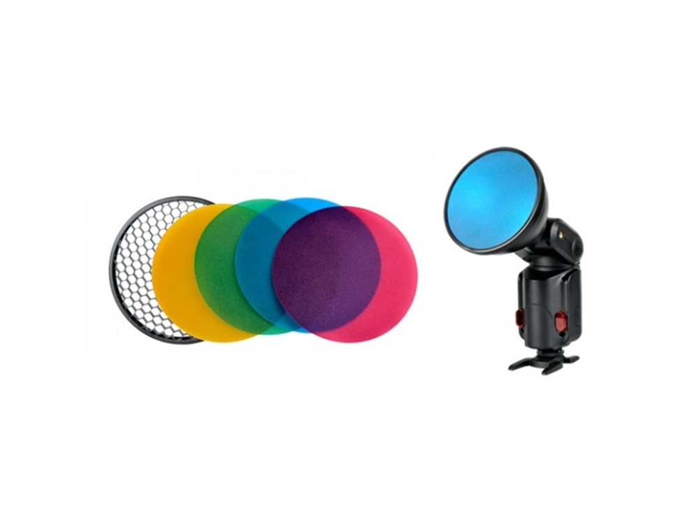 Godox AD-S11 Colour Gel & Grid for Witstro Flashes