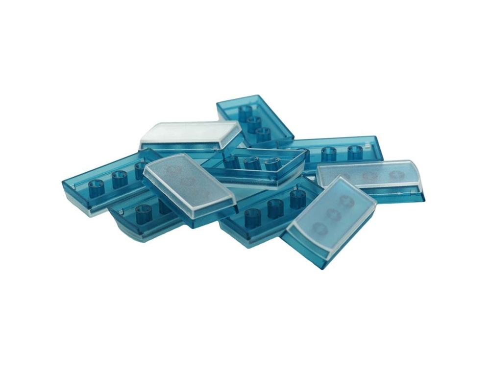X-keys XK-A-002BL-R Tall Keycaps (Blue, Pack of 10)