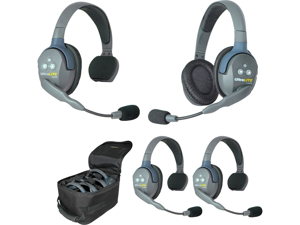 Eartec UL431 UltraLITE 4-Person Headset System