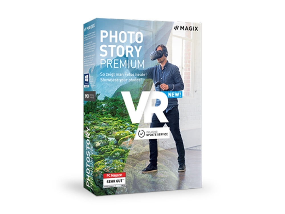 MAGIX Photostory Premium VR (Academic, Download)