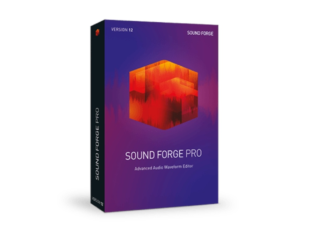 MAGIX SOUND FORGE Pro 12 (Academic, Download)