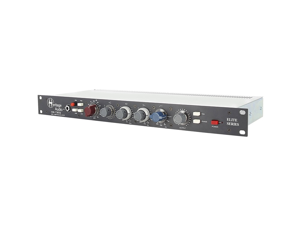 Heritage Audio HA 73EQ Elite Series Microphone Preamplifier with EQ