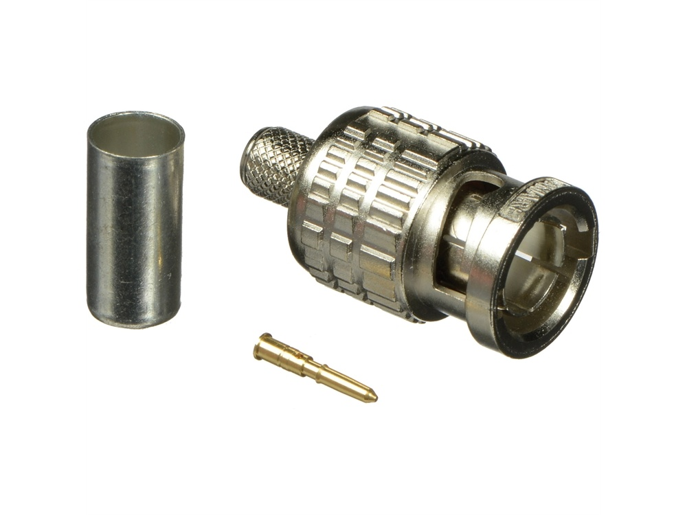 Canare BCP-A4 75-Ohm BNC Crimp Plug for LV-61S Cable (Straight Type, 20 Pieces)