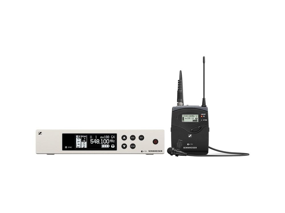 Sennheiser EW 100 G4-ME 2-II Wireless Bodypack System with ME 2-II Lavalier Microphone (B Band)