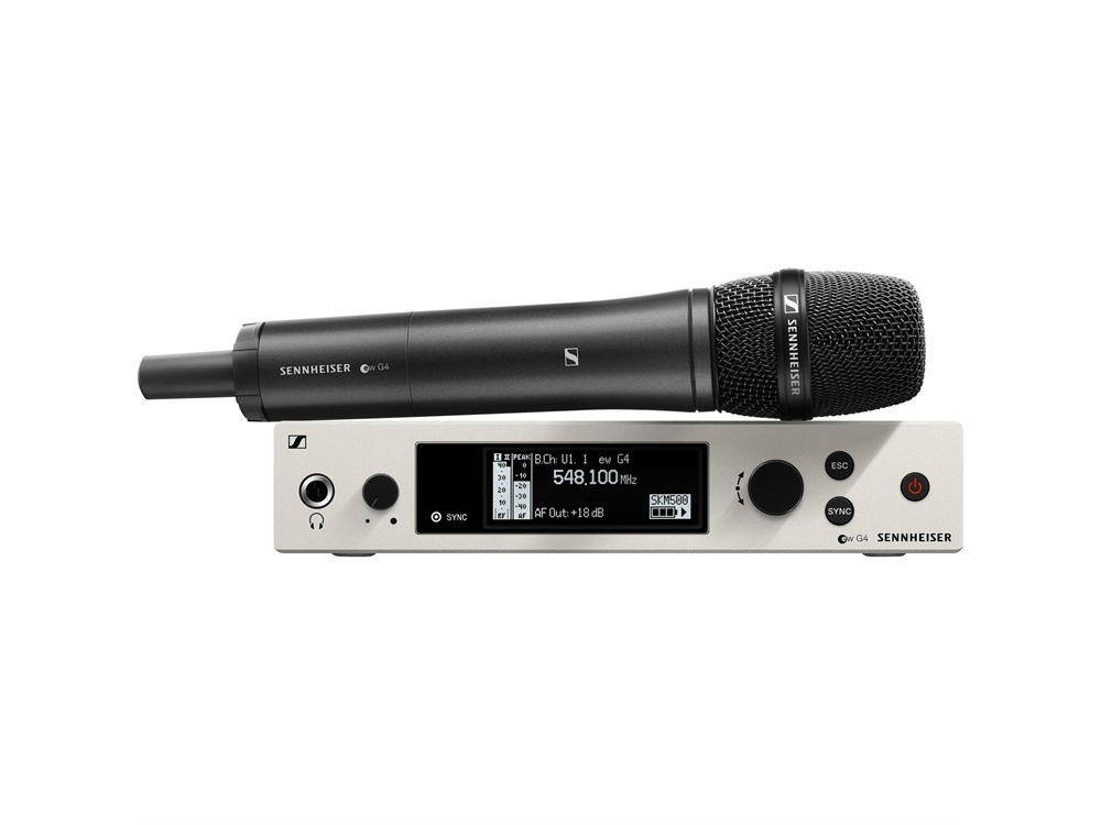 Sennheiser ew 500 Wireless G4 Handheld Microphone System with e935 Capsule (AW+ Band)