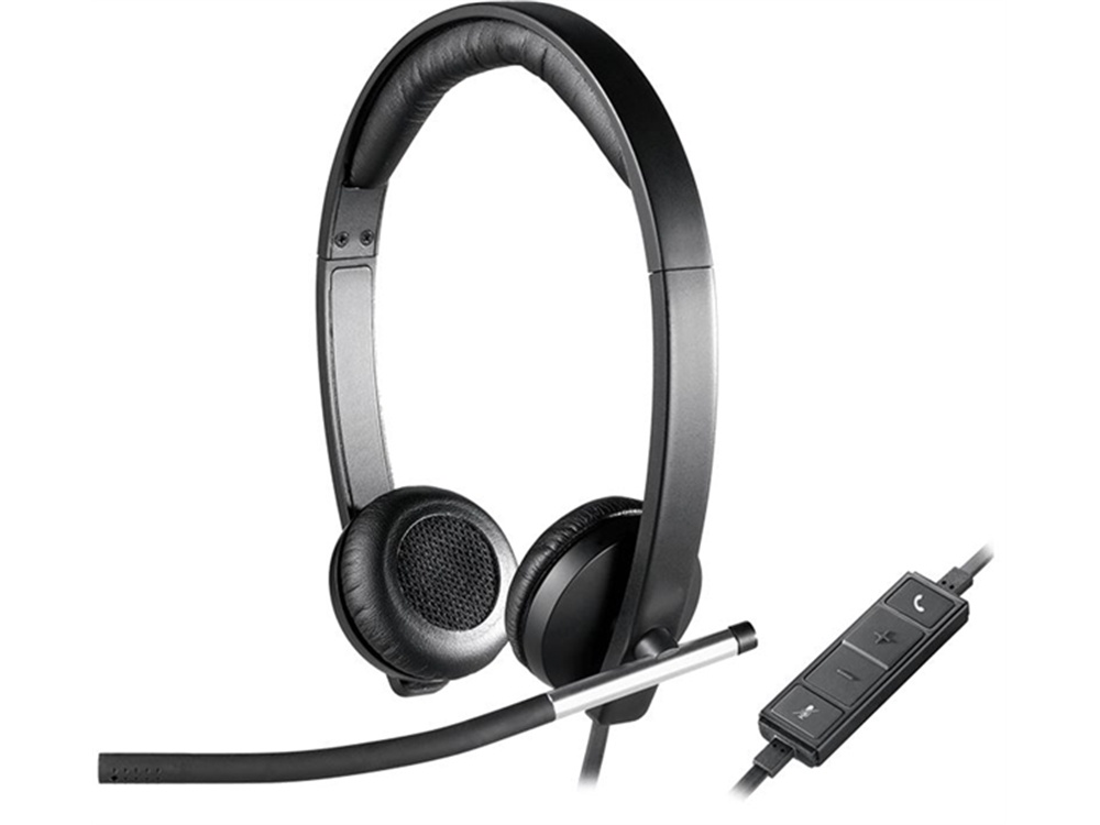 Logitech H650e Wired Stereo Headset