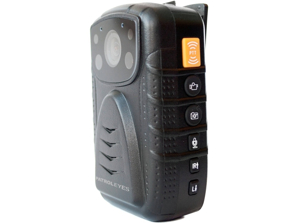 PatrolEyes PE-DV1-2-XL 1296p Body Camera with Night Vision and GPS