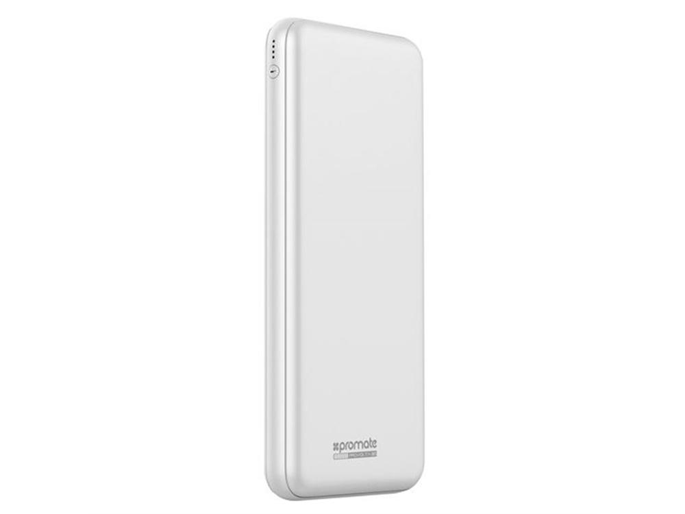 Promate proVolta-30 30000mAh 3-Port Ultra-Slim Power Bank (White)