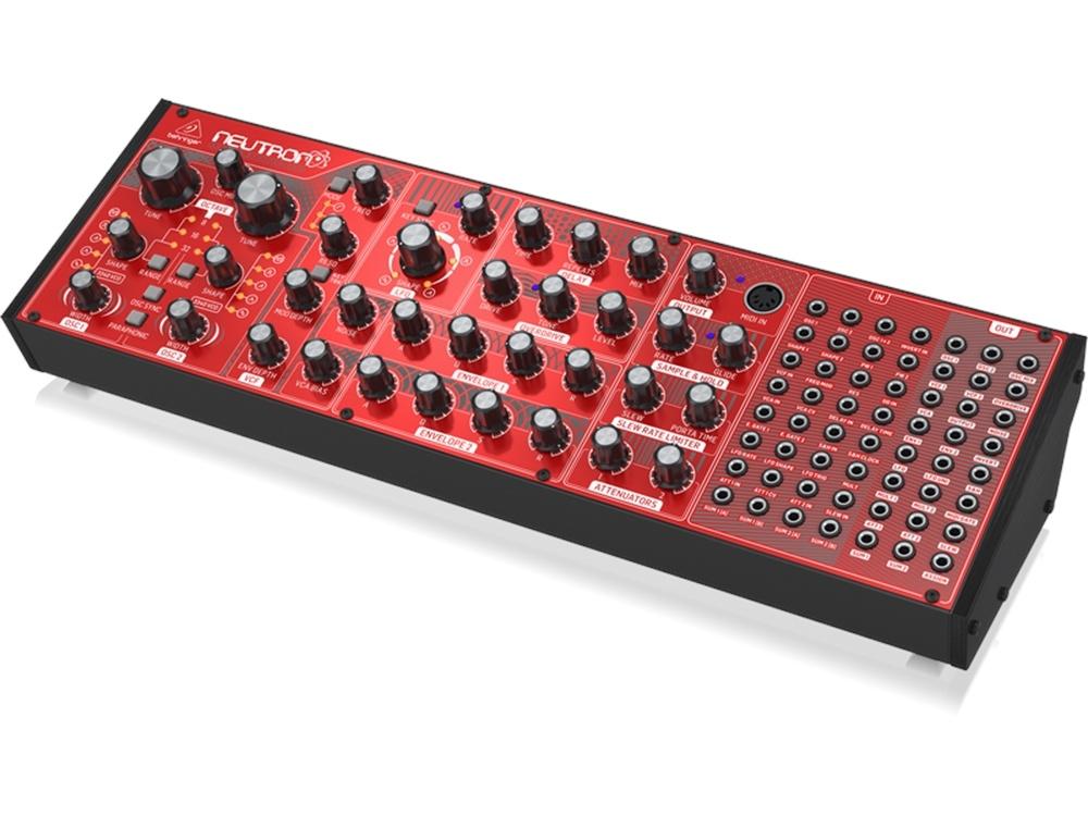 behringer neutron semi modular analog synth rubber monkey nz. Black Bedroom Furniture Sets. Home Design Ideas