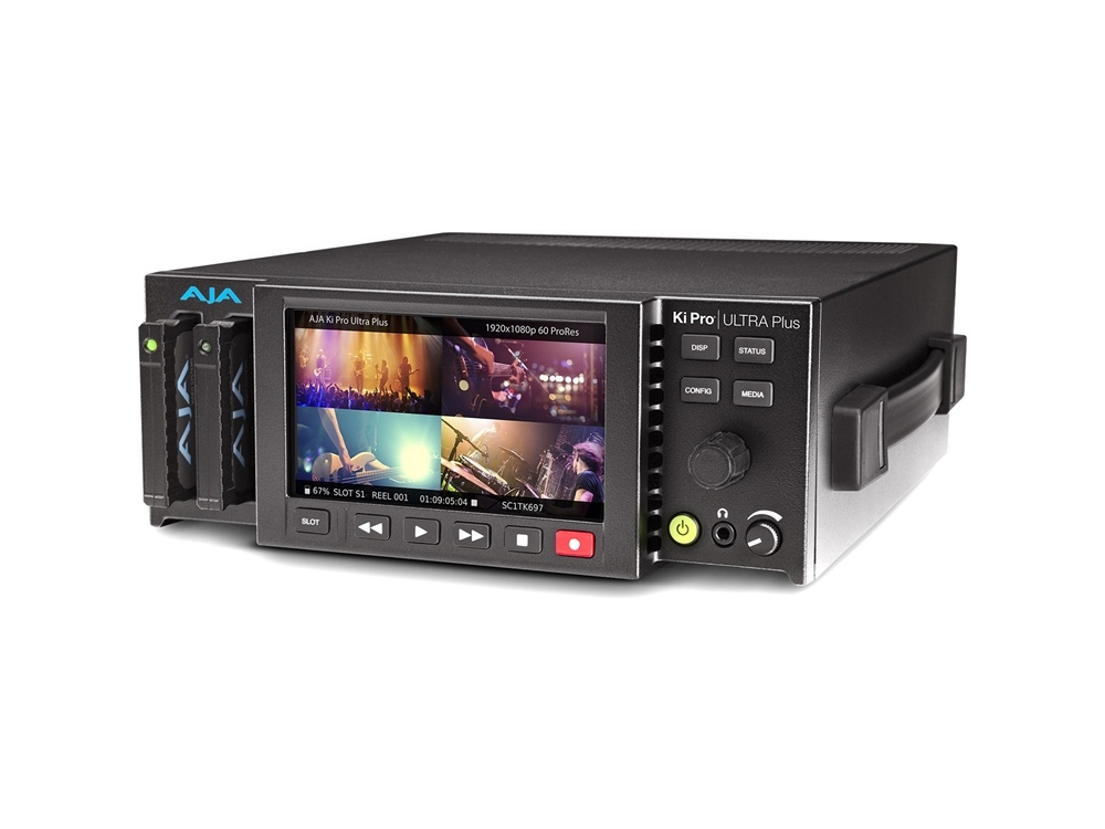 AJA Ki Pro Ultra Plus Multi-Channel HD Recorder