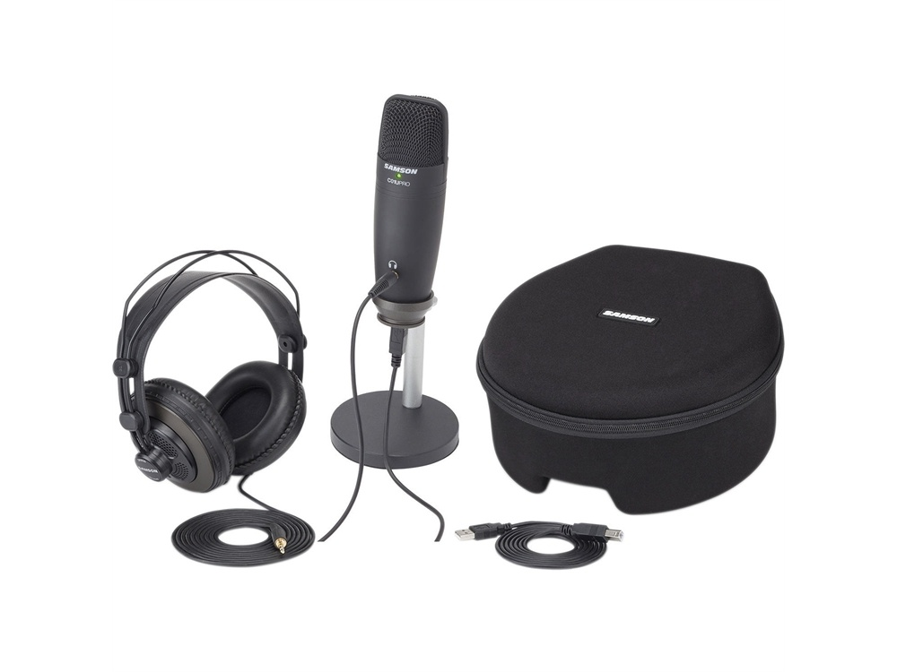 Samson C01U Pro Podcasting Pack