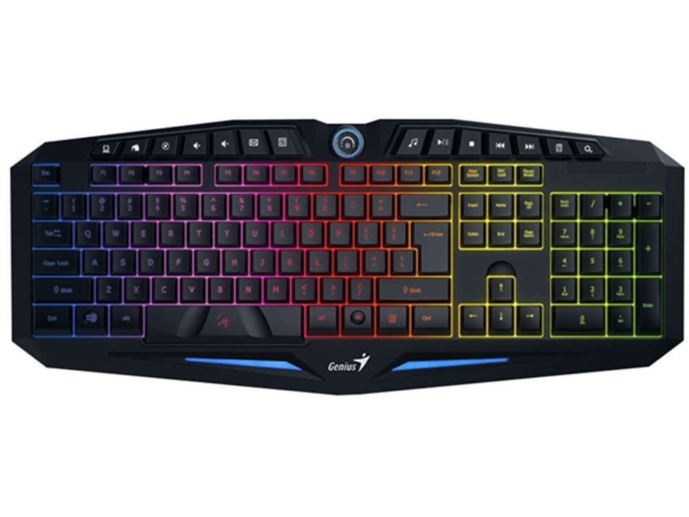Genius GX Scorpion K9 7 Colour USB Wired Gaming Keyboard