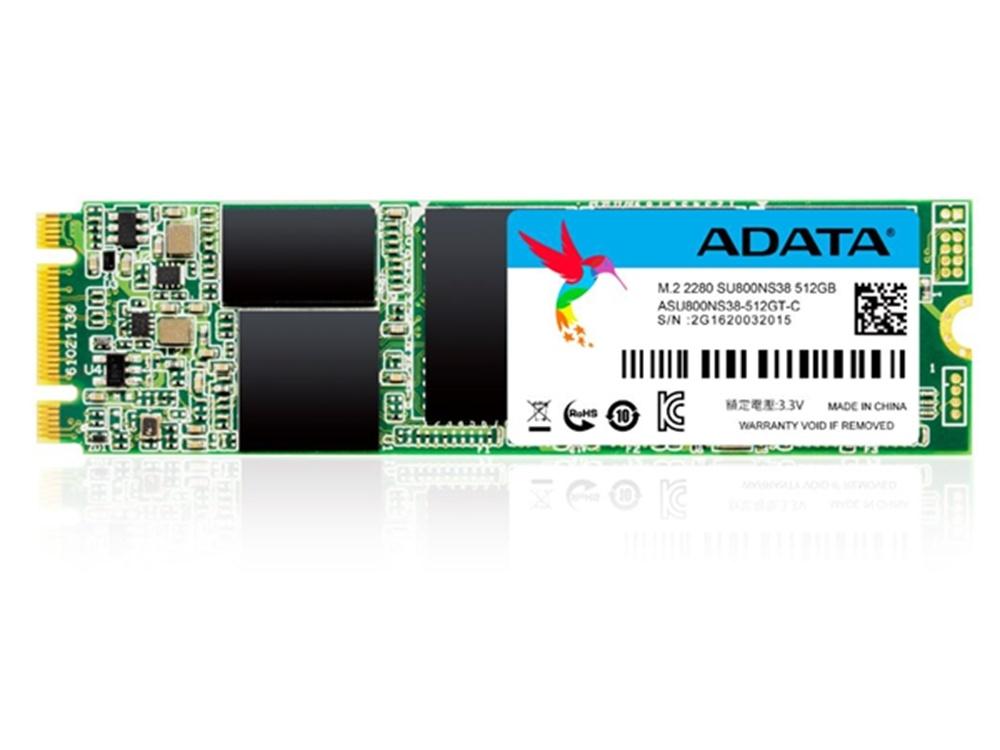ADATA 512GB SU800 SATA M.2 2280 3D NAND SSD