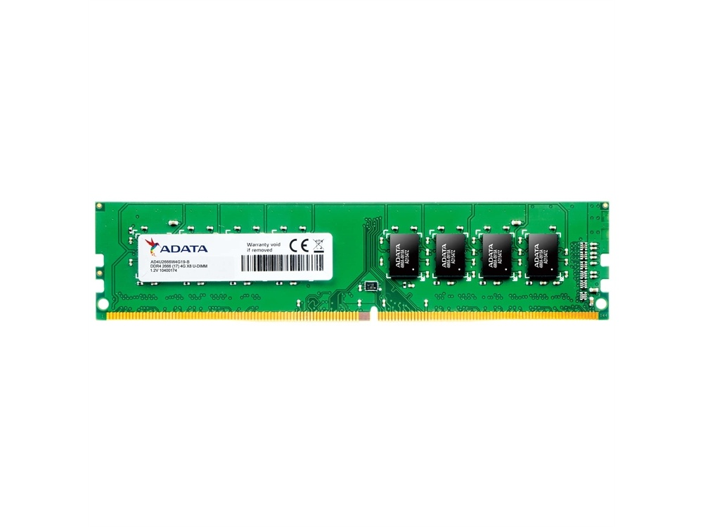 ADATA 4GB Premier DDR4 2666 Unbuffered DIMM Memory