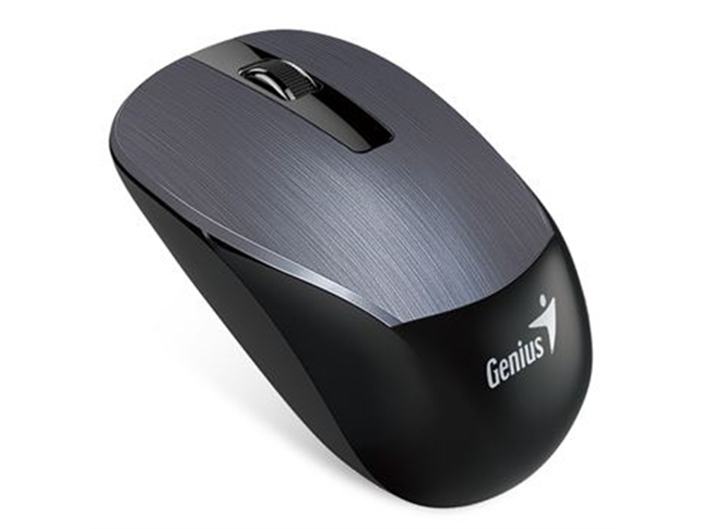 Genius NX-7015 Anywhere Wireless Mouse (Dark Silver)