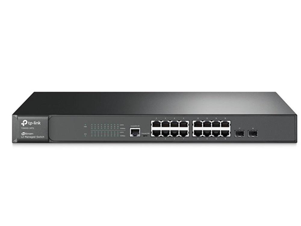TP-Link T2600-18TS JetStream 16 Port Gigabit L2 Managed Switch
