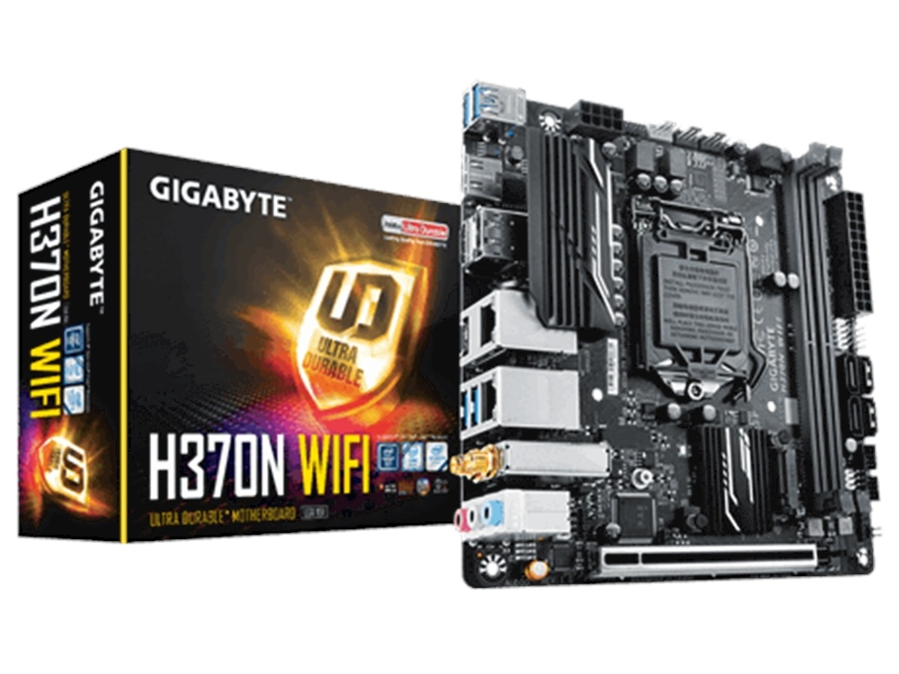 Gigabyte GA-H370N WiFi mITX Ultra Durable Motherboard