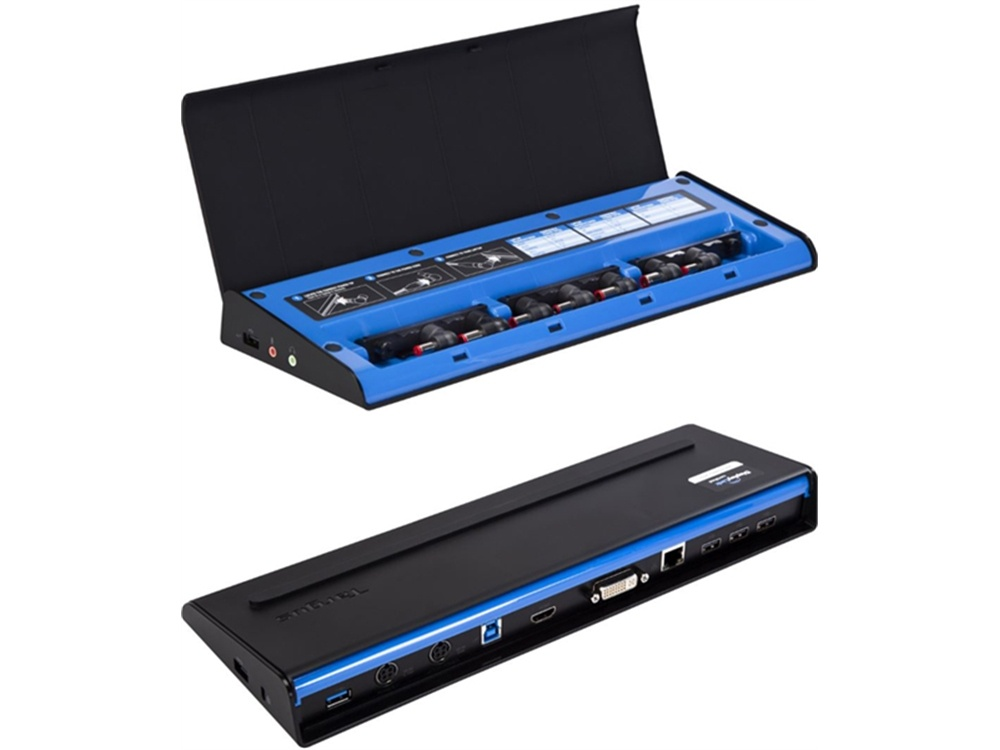 Targus USB 3.0 SuperSpeed Dual Video Docking Station w/ 90w Power